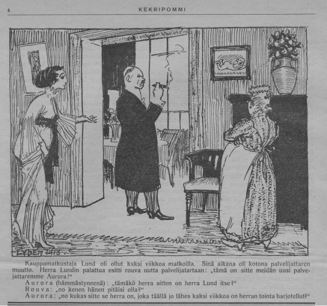 KUVA 2 Kekripommi 1913 Kansalliskirjaston digitoidut aineistot
