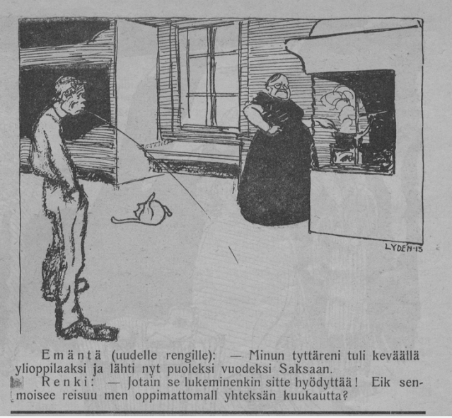 KUVA 3 Kekripommi 1913 Kansalliskirjaston digitoidut aineistot