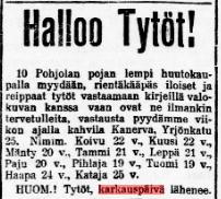 2. Työmies 13.2.1908