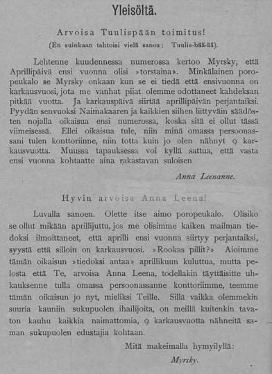 3. Tuulispää 17.4.1903 kuva